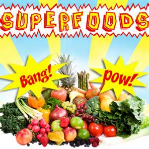 Superfoods for treating ms symptoms naturally and to help with preventing diseases.